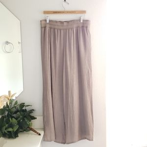 Apt. 9 Taupe Wide Leg Pants Size Large